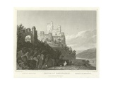 Castle of Rheinstein Giclee Print by William Tombleson
