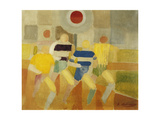 The Runners on Foot, C.1920 Giclee Print by Robert Delaunay