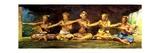 Siva Dance with 5 Dancers, Vaiala, Samoa, 1890 Giclee Print by John La Farge