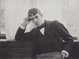 Portrait Photograph of Aubrey Beardsley Photographic Print by Frederick Henry Evans