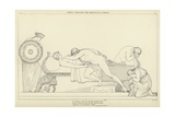 Thetis Bringing the Armour to Achilles Giclee Print by John Flaxman