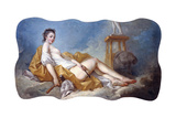 Personification of Sculpture Impression giclée par Jean-Honoré Fragonard