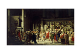 The Last Senate of Julius Caesar, 1867 Giclee Print by Raffaelle Gianetti