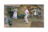The Fencing Lesson, 1893 Giclee Print by Frederick James McNamara Evans