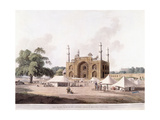 Gate of the Tomb of the Emperor Akbar Giclee Print by Thomas Daniell