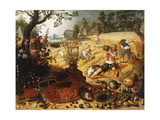 The Four Seasons - Summer Giclée-Druck von Sebastian Vrancx