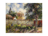 Normandy Countryside; Paysage En Normandie, 1927 Giclee Print by Gustave Loiseau