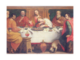The Last Supper Giclee Print by Jan van der Straet