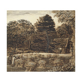 A Cornfield, Shoreham at Twilight Giclee Print by Samuel Palmer