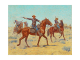 The Rear Guard, 1907 Giclee Print by Charles Schreyvogel