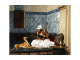 Just a Bit of Fun Giclee Print by Jean Leon Gerome