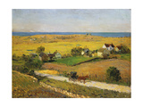 New England Landscapes Giclee Print by William James Glackens