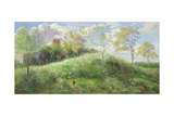 Cow Parsley Hill, 1991 Giclee Print by Timothy Easton