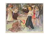 An Affair of Honour, 1900 Giclee Print by Paul Balluriau