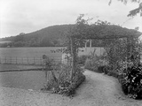 The Gardens at Brinsop Court Photographic Print by Frederick Henry Evans