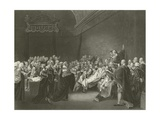 Death of the Earl of Chatham, 1778 Giclee Print by John Singleton Copley