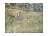 Woman and Goat Giclee Print by Frederick Carl Frieseke