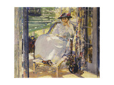 In the Sunroom Giclee Print by Richard Edward Miller