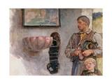 The Offertory Giclée-Druck von Sir Hubert von Herkomer