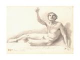 Etude de nu Reproduction procédé giclée par Edgar Degas