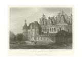 Chateau De Chambord-Loir-Et-Cher Giclee Print by Alphonse Marie de Neuville