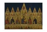 The Polyptych of Pisa, 1320 Giclée-tryk af Simone Martini