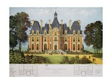 House in Normandy, Design Giclee Print by Victor Petit