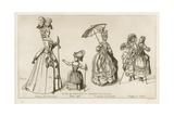 Women of Paris, 1774-79 Giclee-trykk av Raphael Jacquemin