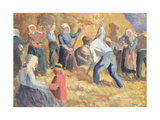 The Harvest, C.1914 Giclee Print by Maximilien Luce