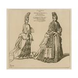 Costumes from 1694-5 Giclee-trykk av Raphael Jacquemin