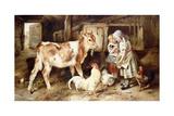 The Orphan, 1887 Giclée-tryk af Walter Hunt