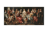 The Marriage at Cana Giclee Print by Hendrik De Clerck