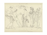 The Judgment of Paris Giclee Print by John Flaxman