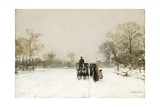 In the Snow Giclee Print by Luigi Loir