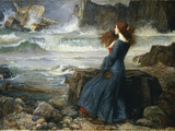 Miranda - the Tempest, 1916 Giclee Print by John William Waterhouse