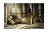 Revenge of Poppea, 1876 Giclee Print by Giovanni Muzzioli