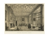 Drawing Room, Broughton Castle, Oxfordshire Giclee Print by Joseph Nash
