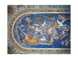 Astrological Ceiling, in the Sala Del Mappamondo Giclee Print by Giovanni De' Vecchi