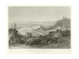 Lyons from La Croix Rousse Giclee Print by Alphonse Marie de Neuville