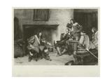 A Tale of Edgehill Giclee Print by John Seymour Lucas