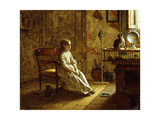 A Child's Menagerie, 1859 Giclee Print by Eastman Johnson