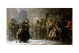 Applicants for Admission to a Casual Ward, 1874 Giclee Print by Sir Samuel Luke Fildes
