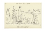 Ulysses Following the Car of Nausicaa Giclee Print by John Flaxman