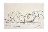 Female Nude; Weiblicher Akt, C.1912 Giclee Print by Alexej Von Jawlensky