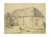 A Barn at East Winch, Norfolk Giclee Print by John Sell Cotman