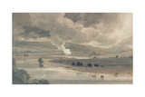 The River Wharfe, 1801 Giclee Print by Thomas Girtin