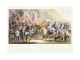 The Presentation of the Knight, 1843 Giclee Print by James Henry Nixon