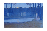 The Songs of the Night, 1896 Giclee Print by Alphonse Osbert