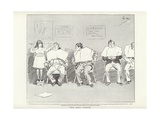 The Baby Barber Giclee Print by Phil May