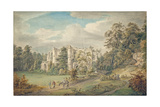 Roche Abbey, Yorkshire Giclee Print by Paul Sandby